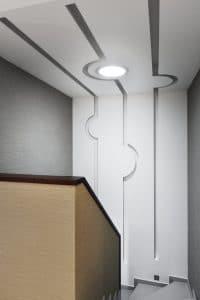 svetlovod schodiste