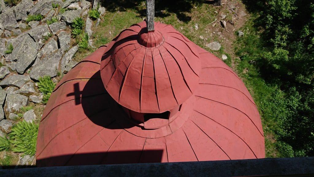 plechova strecha kopule