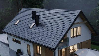 sikma strecha tepelna izolace