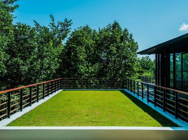 hydroizolace zelene strechy